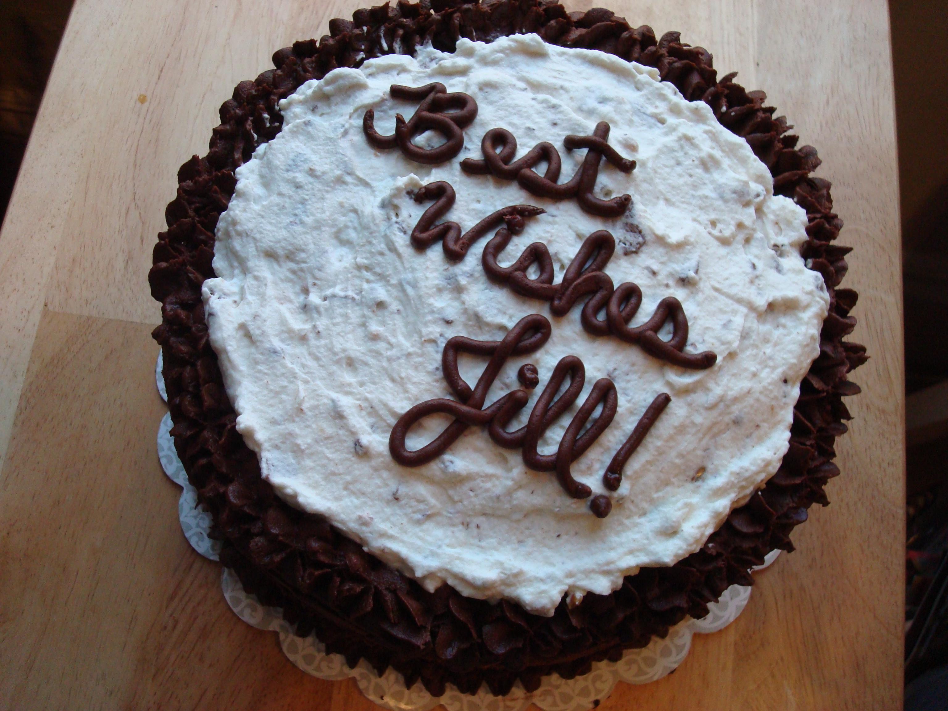 Rebounder Cake